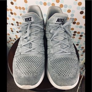 Nike Lunarlon Slip on Shoe  12.5 Grey